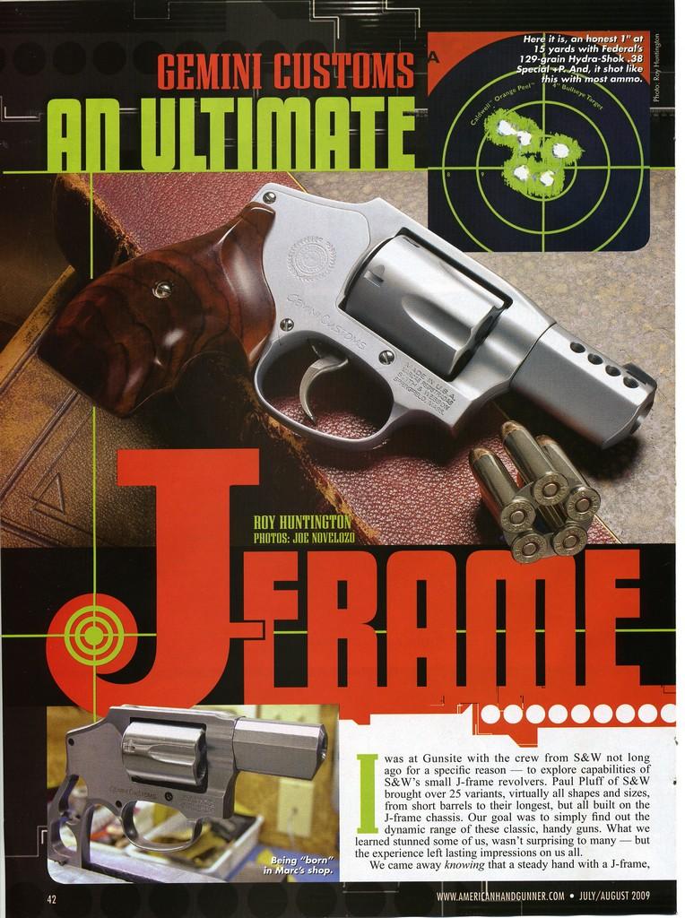 American handgunner July 2013 and glock autopistols 2014 magazine. Lot of 2.